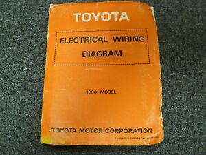 1980 Toyota Land Cruiser SUV Pickup Wagon Electrical ...