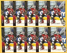 MARTIN BRODEUR 1994-95 Upper Deck #96 ELECTRIC ICE parallel lot of 10 Devils NHL