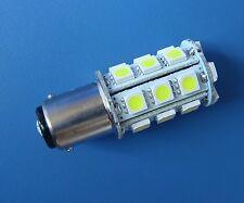 10x BA15D 1142 LED bulb light 24-5050 SMD LED Super Bright, AC/DC 12-28V ,White