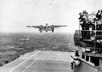 B-25B Mitchell Bomber USS Hornet Doolittle Raid 5 x 7 World War II WW2 Photo 580