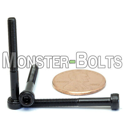 DIN 912 SOCKET HEAD Cap Screws Black Alloy Grade 12.9 3mm M3 x 6mm Qty 10