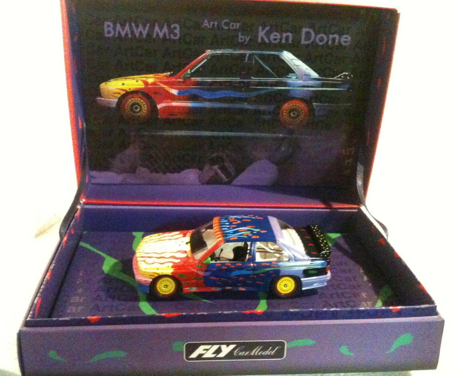 Qq 99022 FLY BMW M3 E30 ART CAR CAR CAR KEN DONATE d1ab92