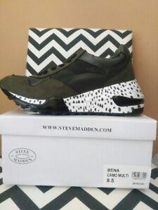NEW Steve Madden Bena Wedge Sneakers