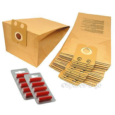 10 sacs de sacs pour aspirateur Panasonic MC-UG302 /& MC-UG304