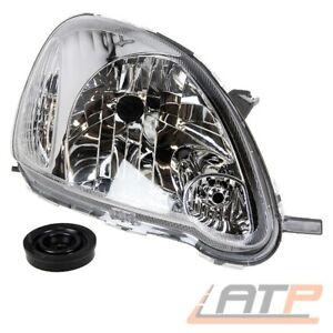 Lampen Scheinwerfer links für Toyota Yaris SCP10 Bj 03//03-01//06 H4 inkl