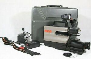 Rca Cc311 Pro Edit Camcorder W Hardshell Case Vhs Hq Ss Image Sensor Bundle Ebay