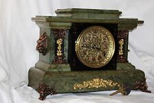SETH THOMAS Mantel Antique Clock c/1898 J-October CLOCK AFTER RESTORATION