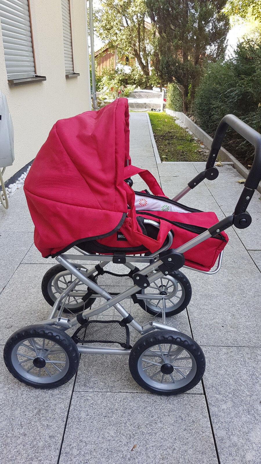Brio 24891310 Puppenwagen gebraucht rot