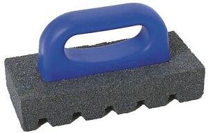 Details about 20-Grit Rub Brick Grinds Smooths Concrete Clean Up Remove Wet  Tile Splatter Mark