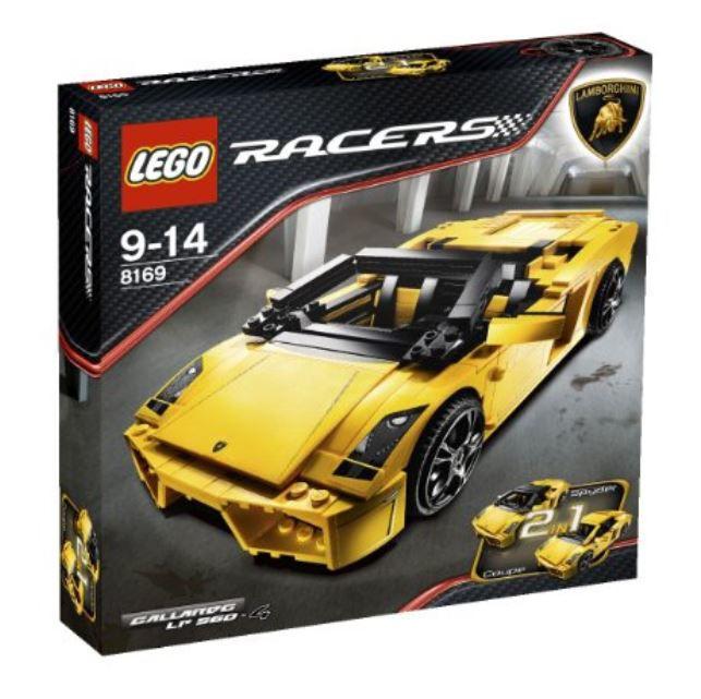 LEGO Racers Lamborghini Gallardo LP 560-4  (8169) NEUF, neuf dans sa Boîte & Scellé  magasin en ligne de sortie