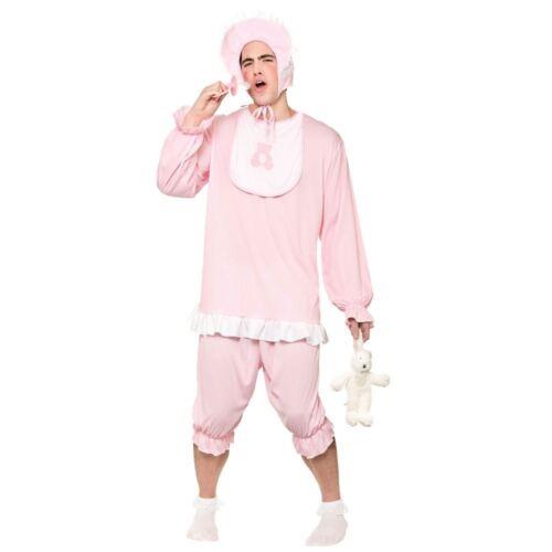Disfraz para adultos Lindo Cry Baby Rosa Mameluco Traje Vestido de disfraz conjunto de de Despedidas De Soltero Gallina