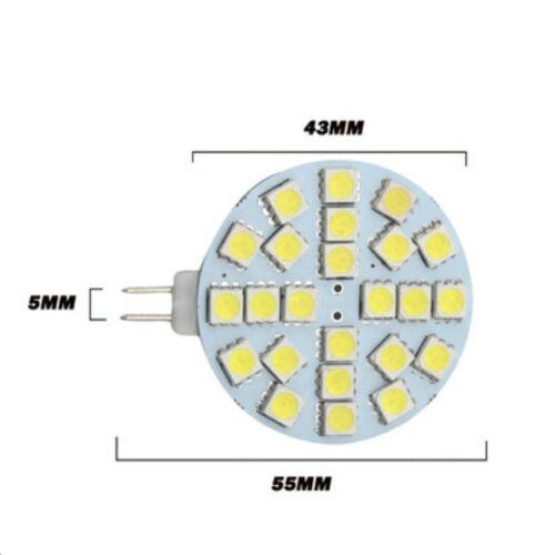 Lampe Strahler G4 LED 5050 12 volt 12-24 Volt 3200 k 5500 k heiß oder Solar
