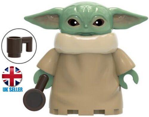 The Mandalorian /& Child Custom Mini figure THE CHILD BABY !UK STOCK!