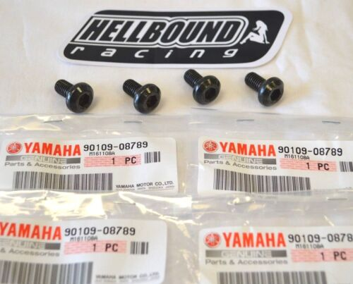 NEW OEM Yamaha rear brake disc mounting bolt set of 4 Yamaha Warrior 350 1987-04