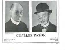 1936, Actors, Charles Paton, Hay Petrie