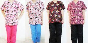 f51661e6b67 Image is loading Betty-Boop-Women-Medical-Hospital-Clinic-Nursing-Scrub-