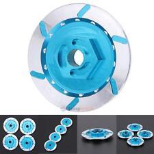 4pcs Aluminum Alloy Brake Disc Wheel Adaptor for 1:10 HSP HPI RC Car Model Blue