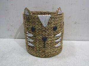 Pottery Barn Kids Shaped Jungle Tiger Storage Basket