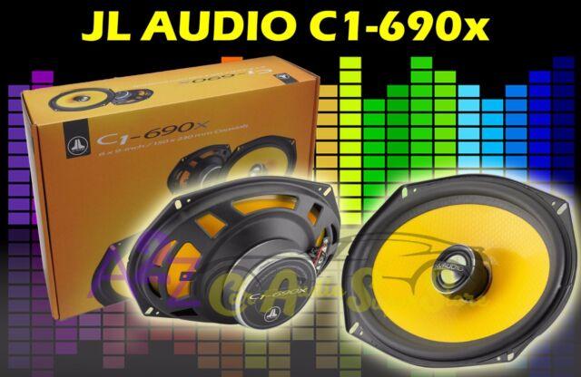 "JL AUDIO C1-690TX  6/""X9/"" 120W RMS 3-WAY ALUMINUM TWEETERS COAXIAL CAR SPEAKERS"
