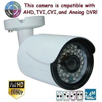 """OSD Sunvision 2.4MP 1080p 1//2.9/"""" In//outdoors 4-in-1 36IR 5MP Lens Camera 130"""