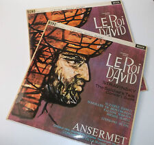 LXT 5321/2 Honegger Le Roi David L'OSR Ansermet Grooved 2LP Set