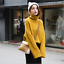 thumbnail 2 - Women-039-s-Knitwear-Turtleneck-Sweater-Loose-Long-Sleeve-Pullover-Jumper-Baggy-Tops