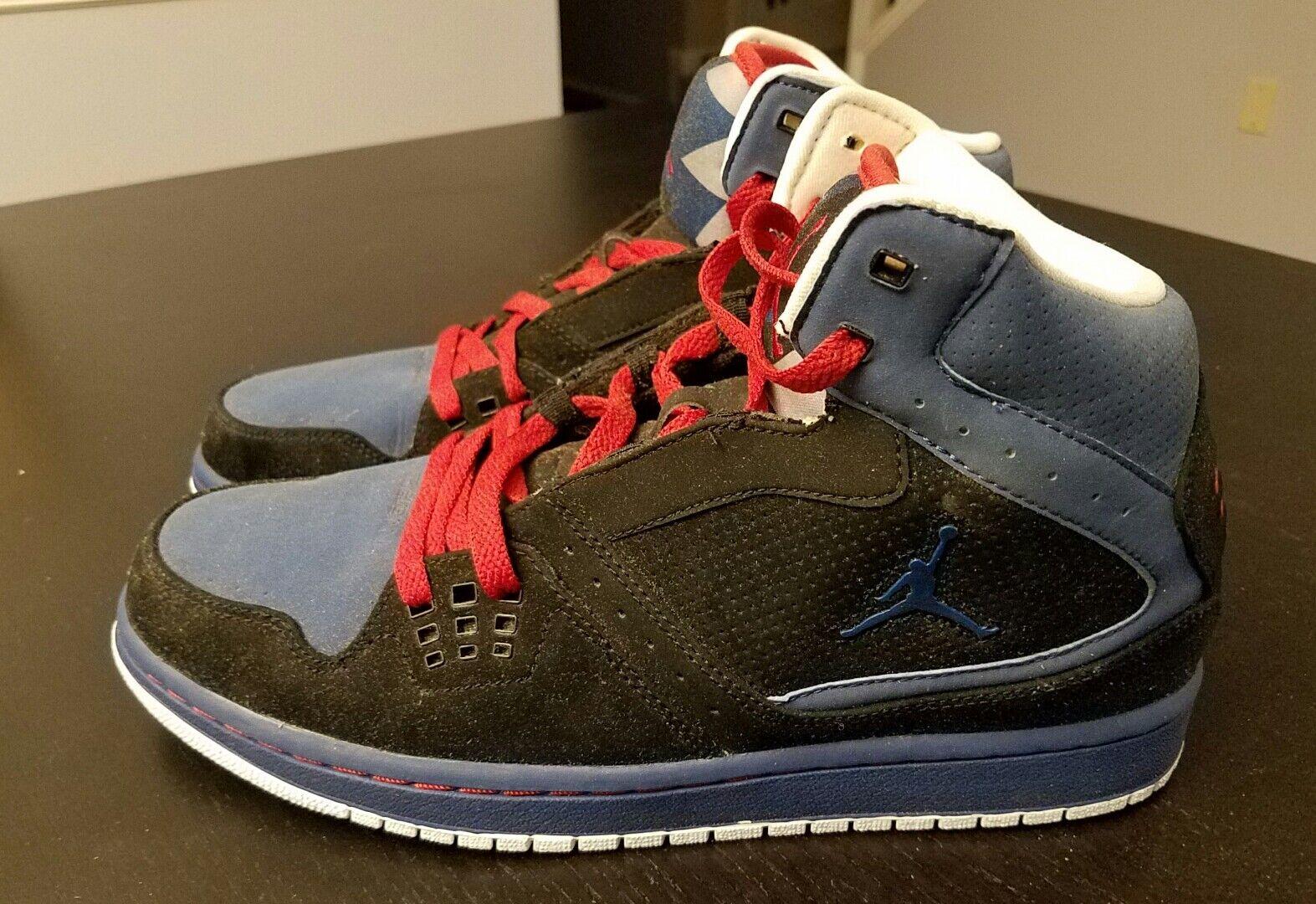 Nike jordan 1 volo uomini dimensioni nuove scorte morte 372704 063 2009 rilascio