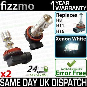 2x FIZZMO H8 H11 H16 Fog using Genuine CREE led chips 45w (9x5w) Aluminium body