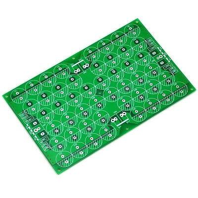 Capacitor Filter Bare PCB, Support 48pcs D18mm Electrolytic Capacitors.