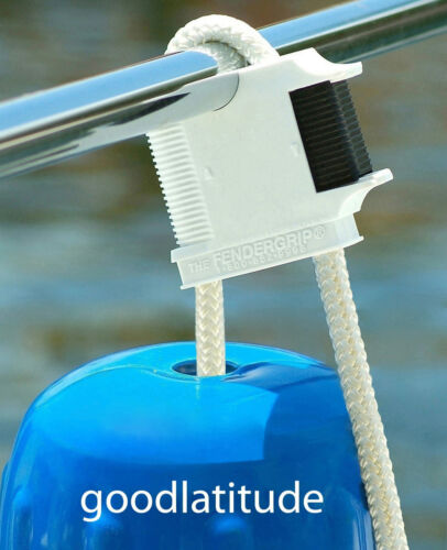 The Best LIFETIME WTY! 3 FENDERGRIP® Fender Holder Adjuster Hanger for Boats