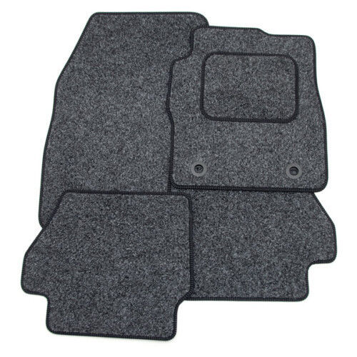 Anthracite Grey Car Mats with Black Trim Perfect Fit for Nissan X Trail 07-13