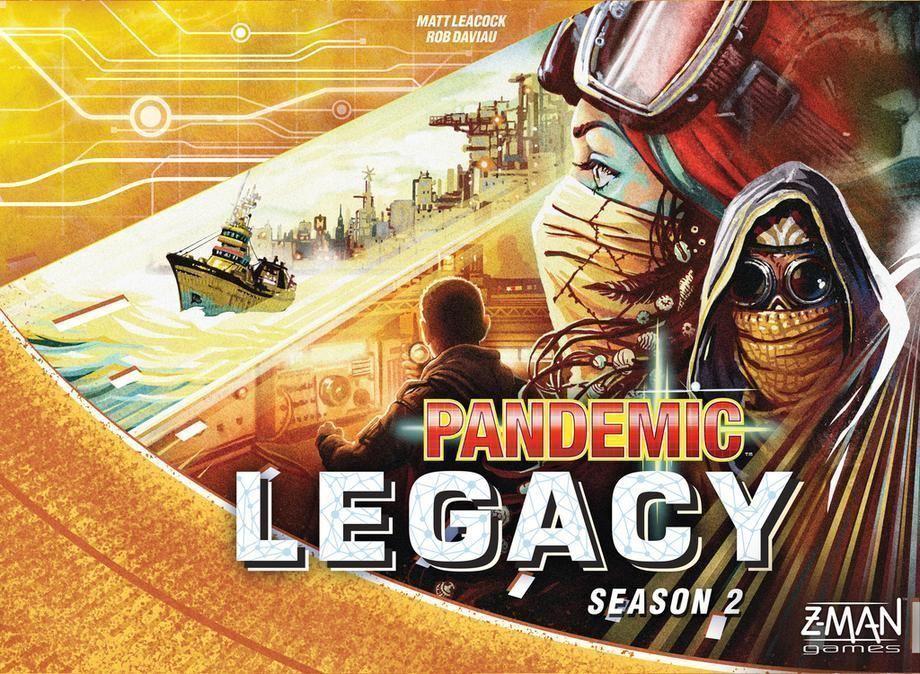 fantasyc  volo giocos Peemic  Legacy Season 2 gituttio  distribuzione globale