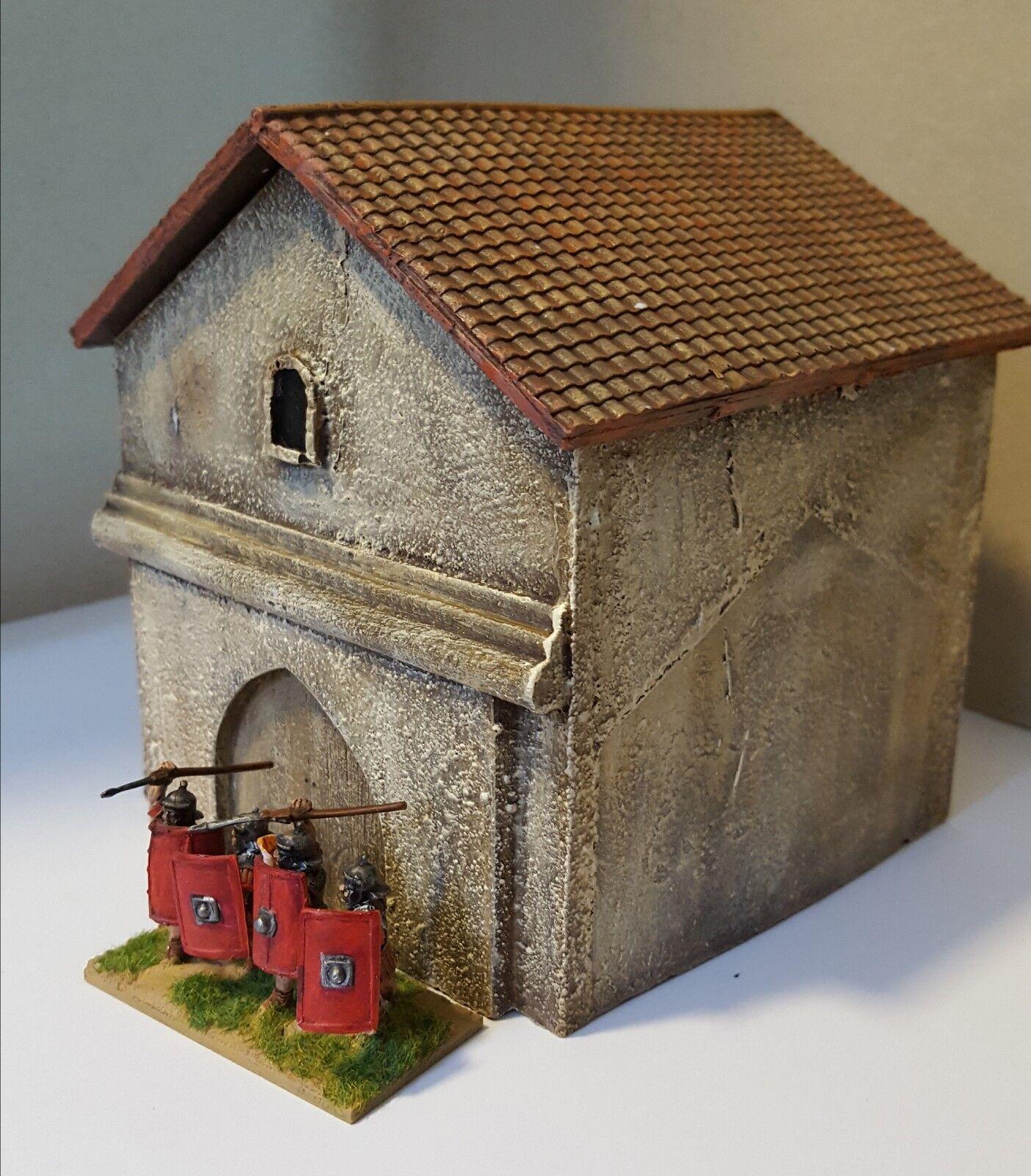 28mm Roman Villa Groß Eingang - GR23P - Lackiert - Gangs Of Rome - 1st Klasse