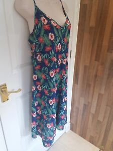 faaf676c9d GEORGE AT ASDA WOMAN'S FLORAL HOLIDAY SUNDRESS SIZE 10 HANKERCHIEF ...