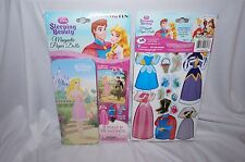 DISNEY PRINCESS MAGNETIC PAPER DOLLS SLEEPING BEAUTY PRINCE AURORA NEW DRESS UP