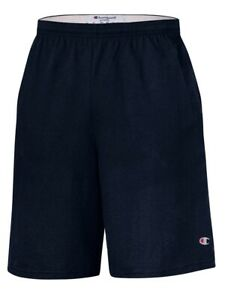 "Champion - 9"" Inseam Cotton Jersey Shorts with Pockets - 8180"