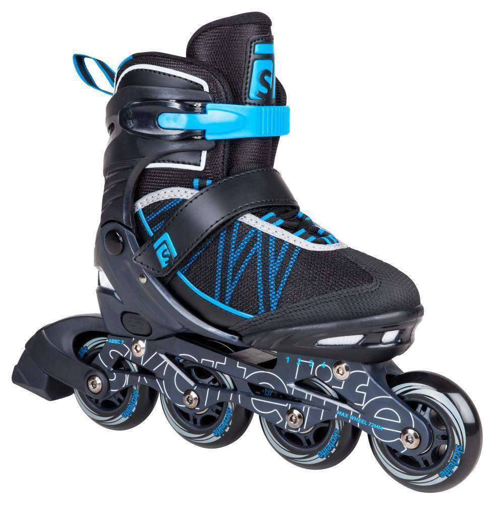 S life Lava II Adjustable  Inline S s Abec 7 bluee Roller S s  high quality genuine