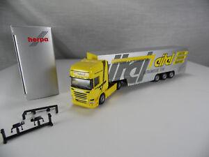Ht516-Herpa-serie-especial-scania-R-2013-tl-euro-maleta-remolcarse-vanidoso-1-87-nuevo