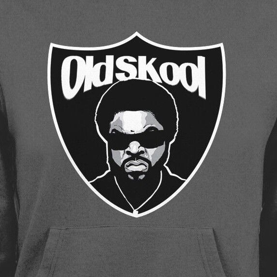 OLD SKOOL ICE CUBE RAIDERS SHIELD WINTER HOODIE OLDSKOOL  Shirt MANY OPTIONS
