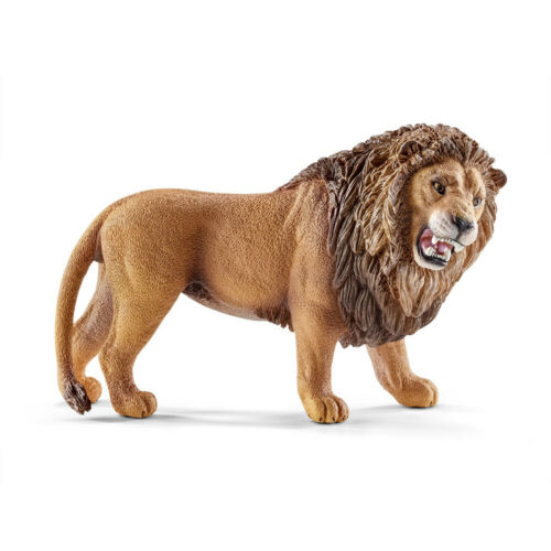 ruggente Figura in Plastica SCHLEICH 14726 Leone World of Nature-Wild Life