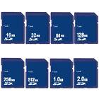 16/32/64/128/256/512MB 1GB 2GB SD Secure Digital Standard Memory Card NEW F.MP3