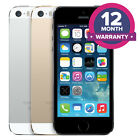 Apple iPhone 5S Unlocked Smartphone - 16GB 32GB 64GB - All Colours
