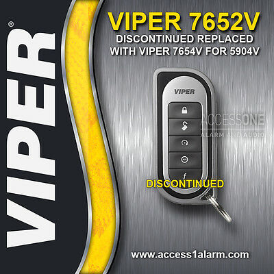 Viper 7652V 1-Way 5-Button Replacement Remote Control Transmitter 7654V 5904V