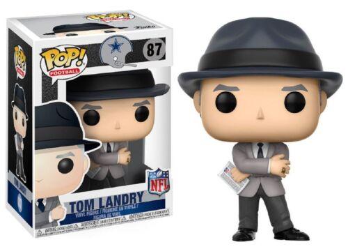 NFL Dallas Cowboys Funko POP! Sports Tom Landry Vinyl Figure #87