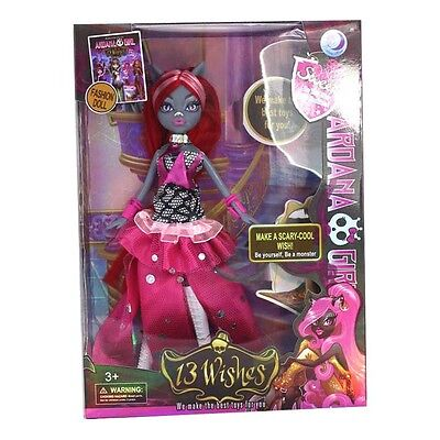 fast shipping NEW Monster High 13 WISHES Catty Noir DOLL IN ORIGINAL BOX