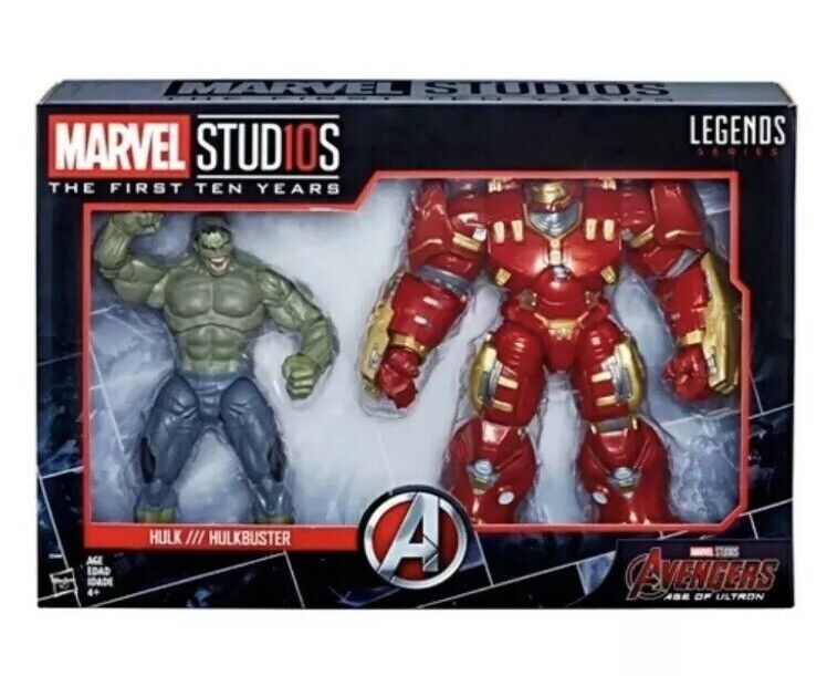 Marvel Legends Studios Hulk & Hulkbuster The First 10 Years Collectible Figures