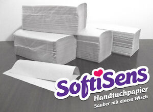 5.000 Blatt Handtuchpapier, Falthandtuchpapier zickzack 25 x 23cm natur Neuware