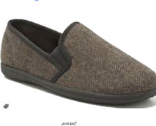 Clarks King Tweed men/'s slippers size 11 G RRP £40 New