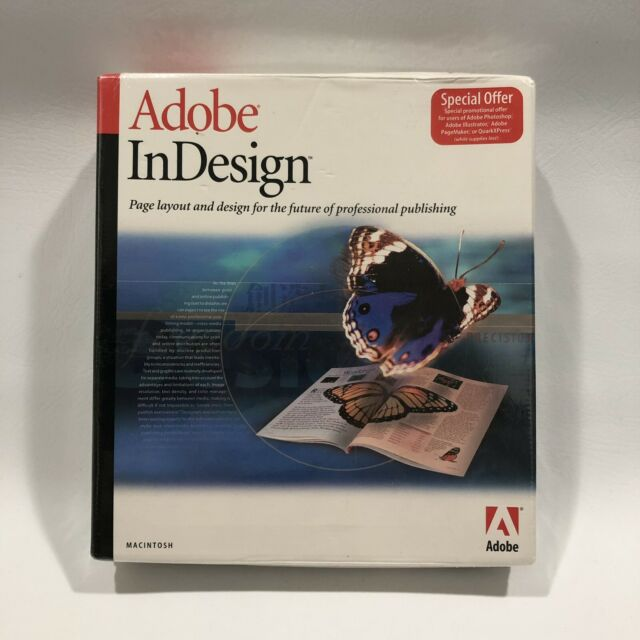 Adobe InDesign 2 0 (Retail) (1 User/s) - Full Version for Mac 17510347