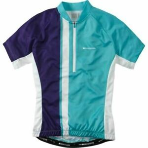 Madison-Women-039-s-Tour-Jersey-Aqua-Purple-size-12-BNWT